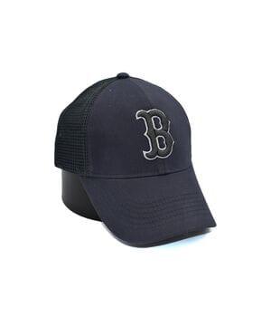 Бейсболка сетка Art cap Boston Red Sox 56-61 см темно-серая (0919-523)