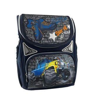 Рюкзак школьный каркасный Gorangd 31x26x12.5 см 10л Синий (gor45345/1)