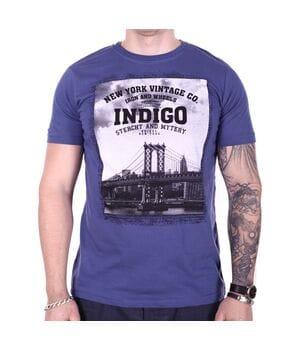 Футболка StrongMan Indigo f0318/2 Синяя