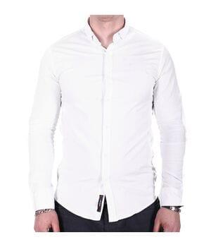 Рубашка однотонная Ronex o02182 белая