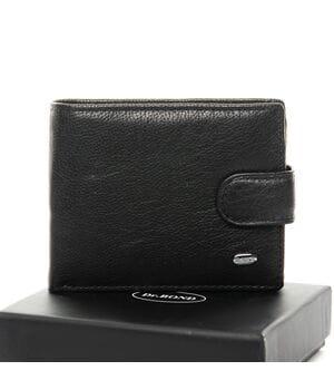 Кожаный мужской кошелек Dr.BOND М14 черный
