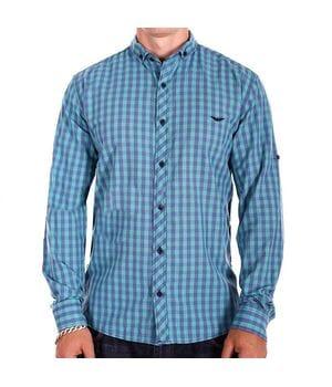 Мужская рубашка Ronex Турция cm10202/4 разноцветная