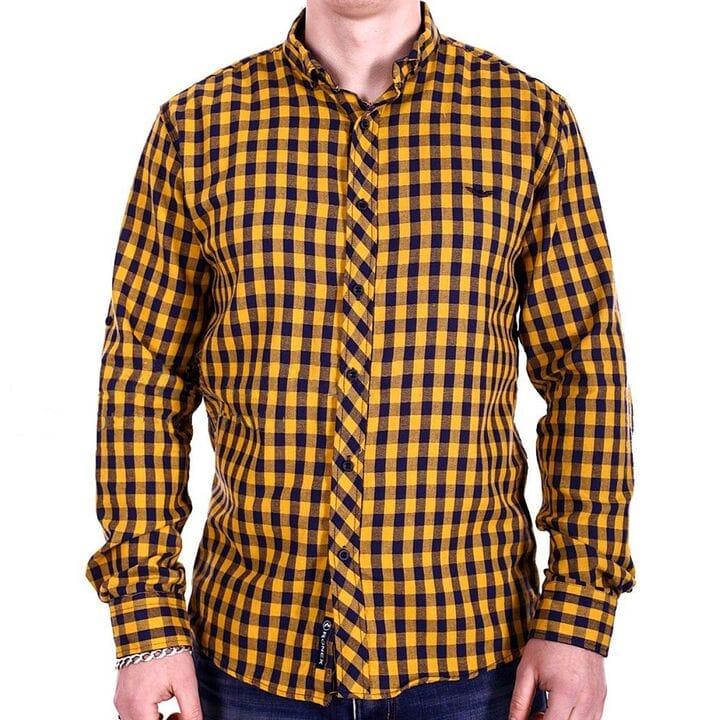 Мужская рубашка Ronex Турция cm10202/1 разноцветная