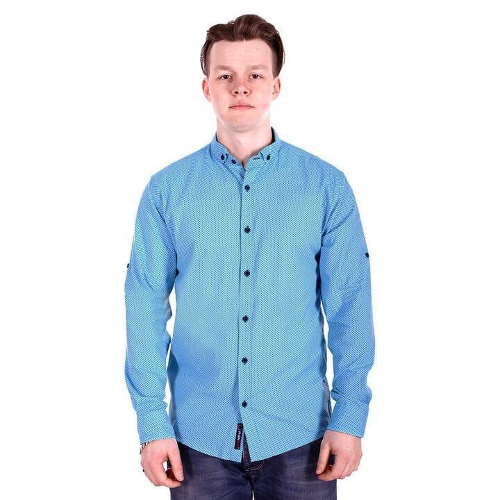 Мужская рубашка в точку Ronex производство Турция (s0918/1)