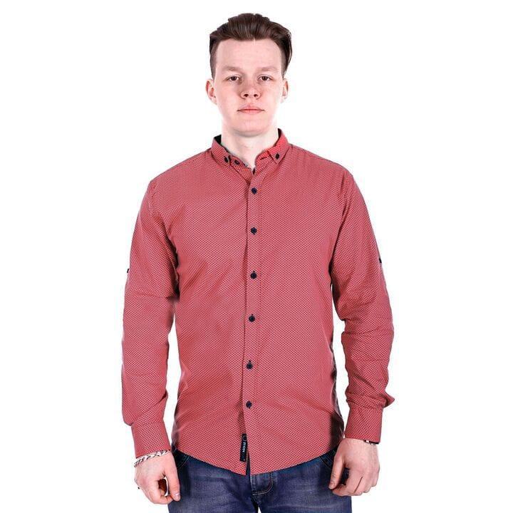 Мужская рубашка в точку Ronex производство Турция (s0918/2)