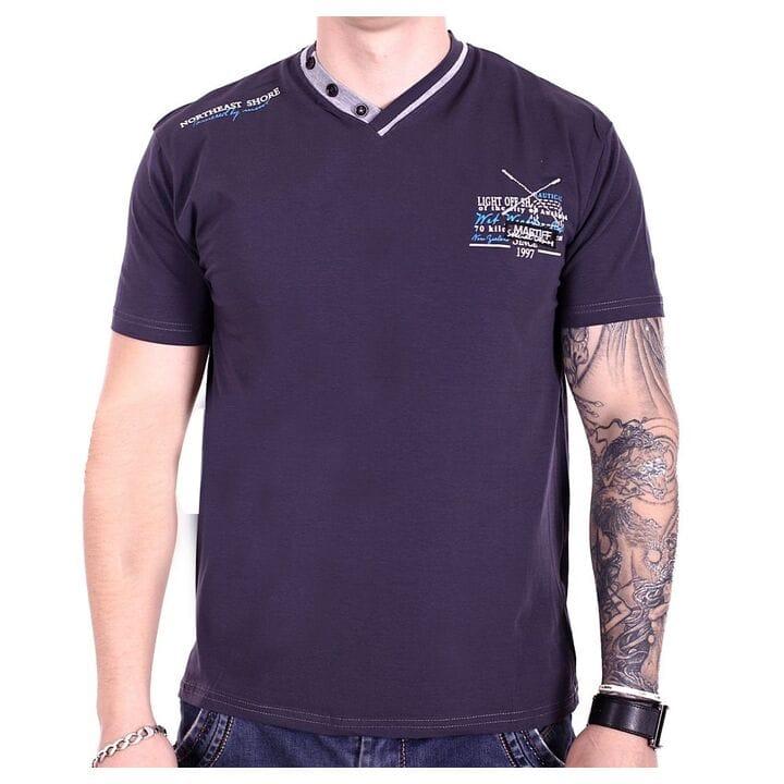 Мужская футболка Mastiff  Турция f1918/9 Темно-серая