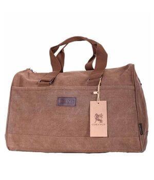 Дорожная сумка Gorangd длина 42 см Коричневый (3150/1)