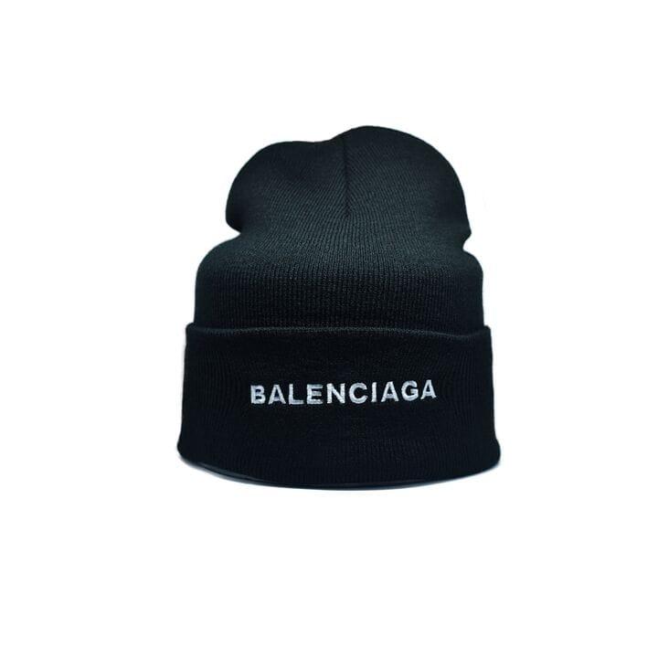 Шапка Flexfit Balenciaga 55-59 см Чёрный (F-09118-31)