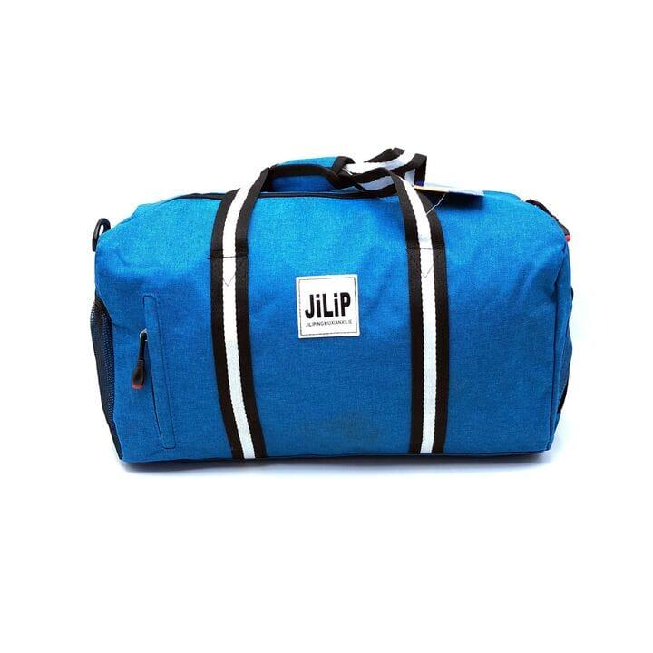 Дорожная/спортивная сумка синяя  (3076/2)