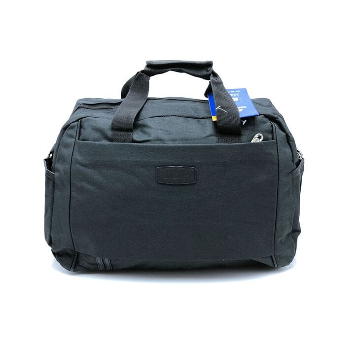 Дорожная/спортивная сумка черная  (3085/1)
