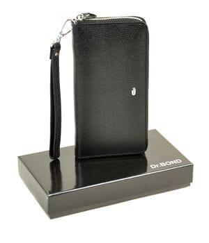 Кожаный мужской кошелек на молнии Dr.BOND Ms41