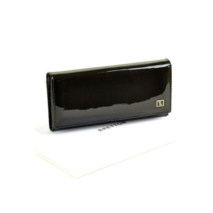 Женский кожаный лаковый кошелек BRETTON W1-V/1