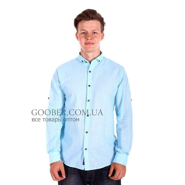 Однотонная рубашка Ronex производство Турция (s1318/1)