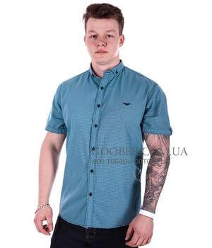 Рубашка с коротким рукавом Ronex Турция (s0827/3)